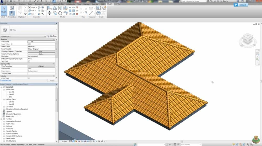 Telhados Que Se Cortam Automaticamente Telhados